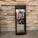 Chippy Shabby Mirror, Rustic Mirror Wall Hanging Decor, Rus Mirror