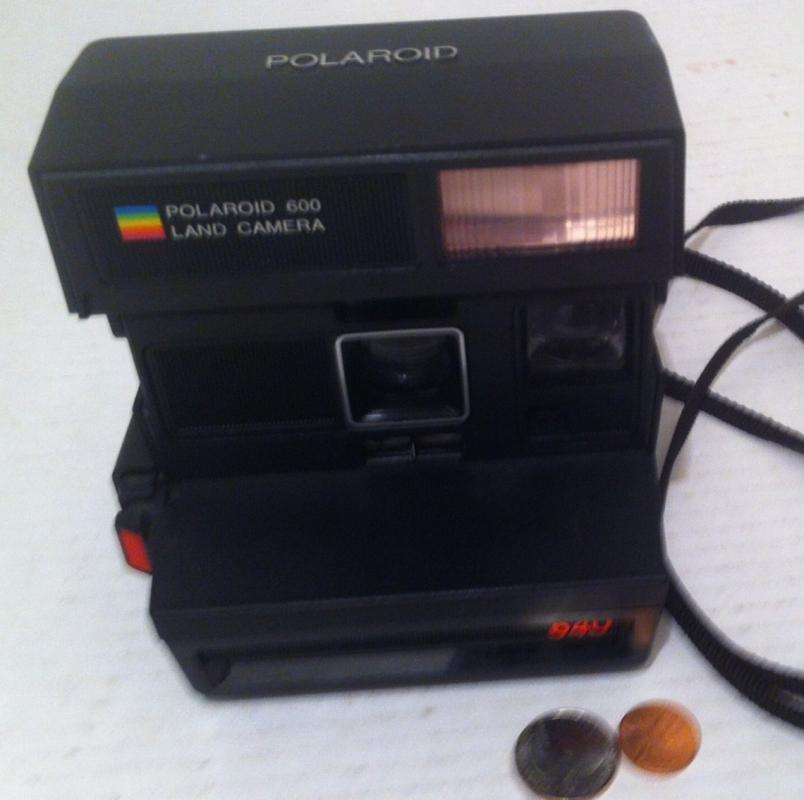 Vintage Polaroid Camera, Land Camera 600, 640, Instant Picture Camera, Photography, Quality Camera
