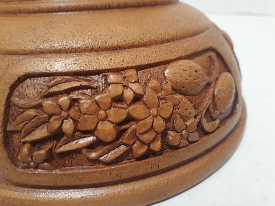 Vintage 1984 Nut Bowl with Nut Cracker, 7