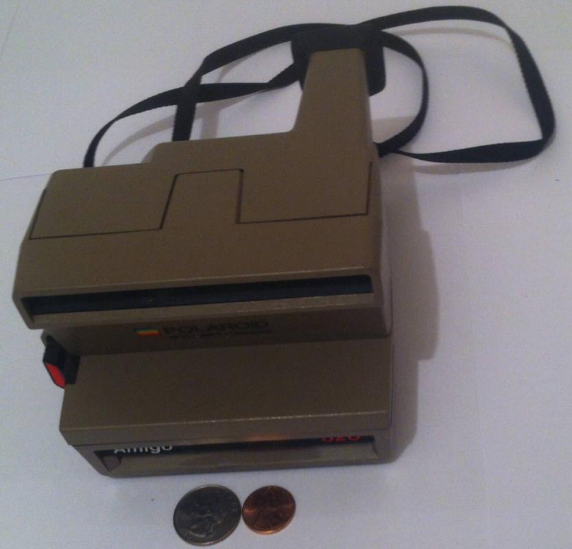 Vintage Polaroid 600 Land Camera Amigo 620, Instant Camera, Photography, Photos, Pictures, One Step, Shelf Display, Home Decor, Nice Camera