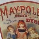 Vintage Hair Color Bottle Display, Maypole Brand Dyes, For Home Dying, Gold, Red, Navy, 11 x 7, Table Display, Shelf Display, Home Decor