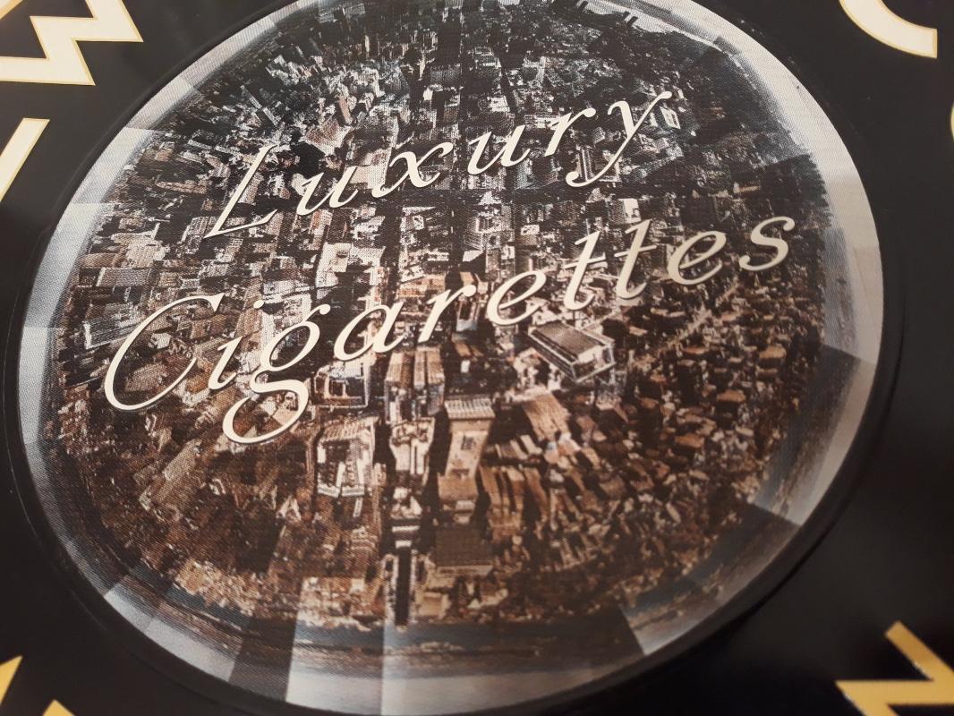 Vintage Metal Tobacco Sign, Cigarette Sign, New York Cut Tobacco, 16 1/2