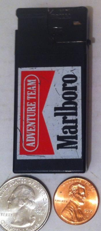 Vintage Metal Marlboro Cigarette Lighter, Table Display, Shelf Display, Collection, Metal Lighter, Cigarette, Cigars
