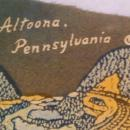 Vintage Set of 2 Pennants and Old