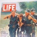 Vintage Life Magazine, July 1965, Deeper Into the Vietnam War, Shelf Display, Home Decor, Table Display, Fun Ads, Nostalgia Fun, 13 x 10.