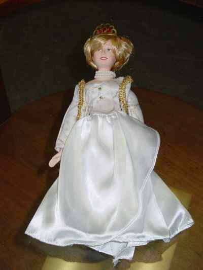 princess diana wedding dress doll worth