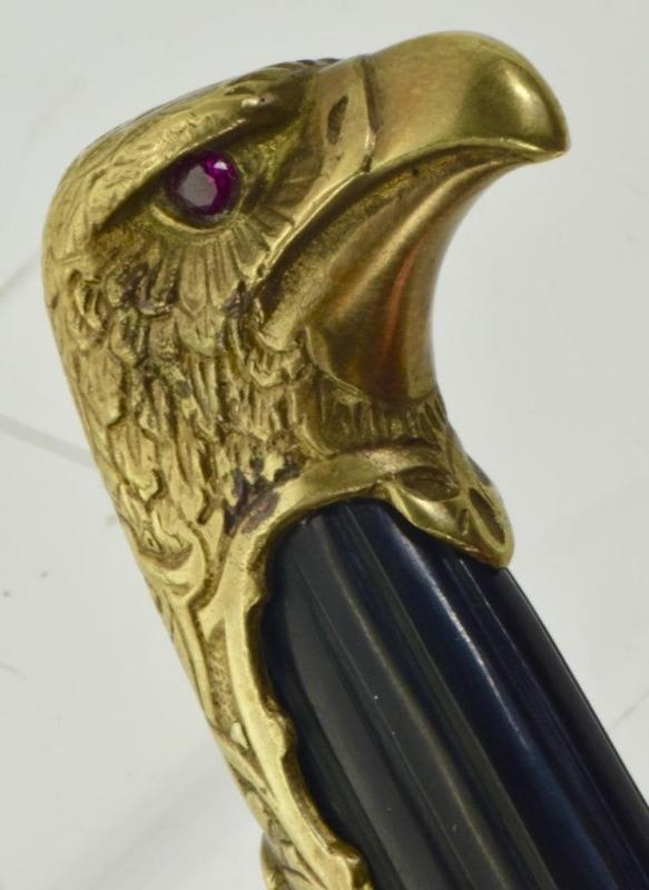 RARE WWII Bulgarian Royal pilot's ace award eagle dagger,Carl Eickhorn Solingen