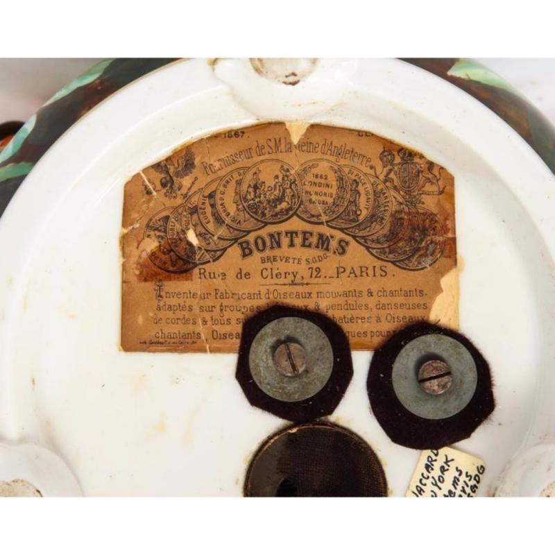 Blaise Bontems, an Extremely Fine & Rare Automaton Double Singing Bird Music Box