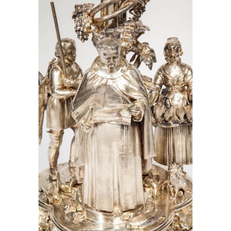 Elkington, Mason & Co. a Rare, Important, & Historic Silvered Bronze Centerpiece