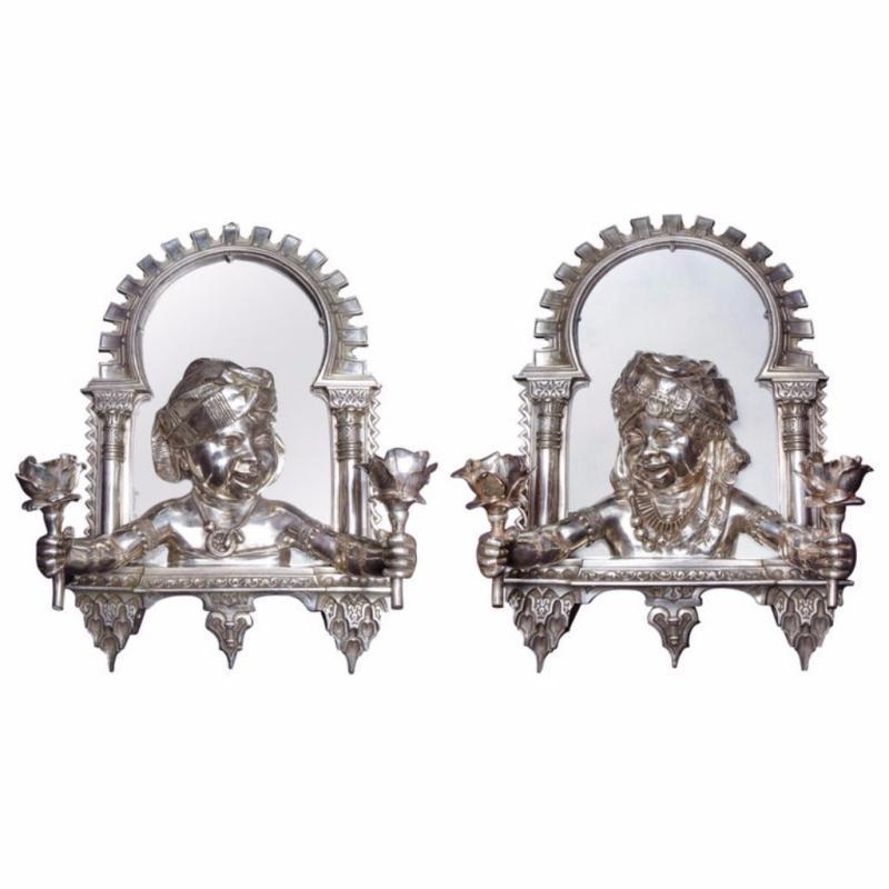 Pair of French Orientalist
