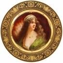 Rare and Exceptional Royal Vienna Porcelain Plate of