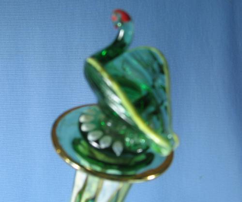 Moser Art Glass CIRE Royo Decanter Vase  - Victorian