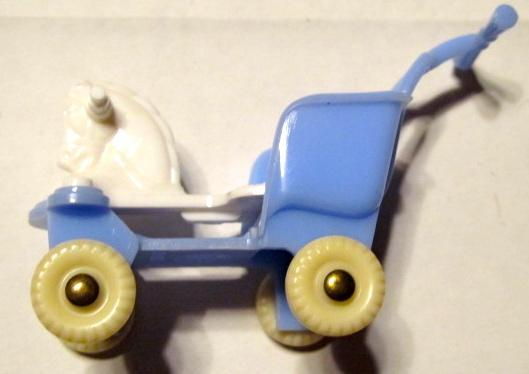 ACNE Horse Stroller Doll Furniture - Plastics