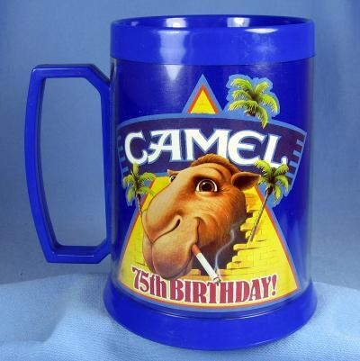 CAMEL Tobacciana Advertising - JOE COOL 75th Birthday Mug