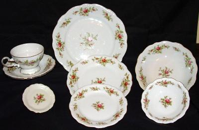 Antique Haviland  Germany 103 piece Pottery Porcelain Dinnerware - Service for 12
