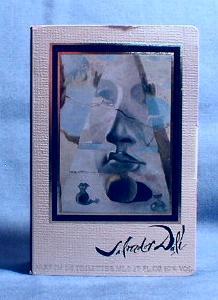 Minature  Salvador Dali  Parfum de Toilette - Vintage French Mini Glass Perfume Bottle with Original Box