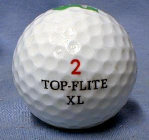 BUSHWOOD COUNTRY CLUB - Spalding Top Flite XL Golf Balls - Mint in Box sporting