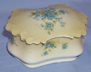 Old Eight Piece VICTORIAN Porcelain Dresser Set