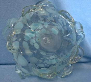 ART GLASS  Murano Internally Decorated  Art Glass Bowl