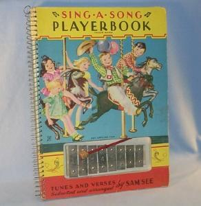 Sam See SING-A-SONG Playerbook - Toys