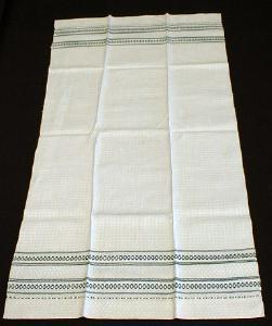 antique Linen Table Runner or HUGE Towel - Vintage textile