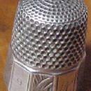 Silver Thimble Hallmark - Silver