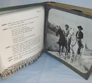HOPALONG CASSIDY AND THE SQUARE DANCE HOLDUP Record / Reader Set - Misc.
