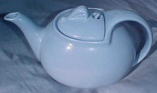 HALL Teapot Delphinium Hook Cover - Porcelain