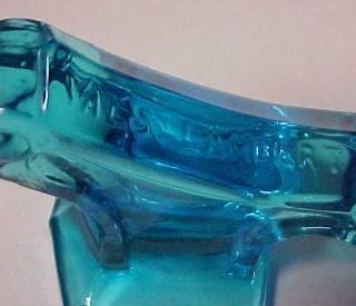 KNIFE REST Blue Val Saint Lambert - Glass