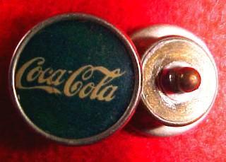 Vintage Coca-Cola Cuff Link- Advertising