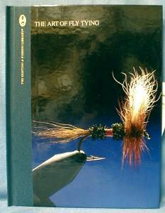 old vintage ART OF FLY TYING - John van Vliet - The Hunting & Fishing Library - Sporting Paper