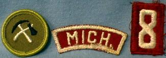 Boy Scouts America 1959-1965 Patch Group - collectible