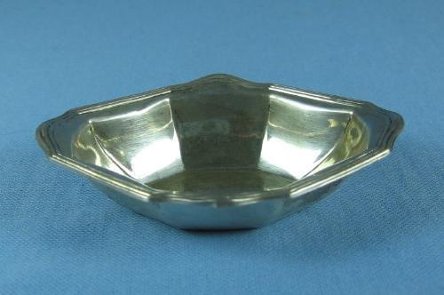 Sterling Silver OPEN SALT-  Antique Silver Master Salt Dip