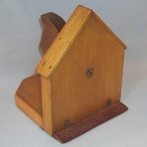 Single Wooden SCOTTIE DOG Bookend - Misc.