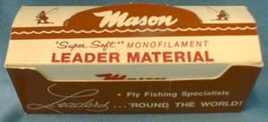 Fly Fishing Leader - Mason Super Soft Monofilament Leader Material -  Sporting