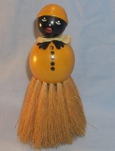 MAMMY Wooden Whisk Broom - Ethnographic