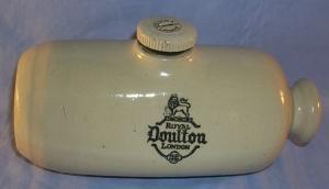 ROYAL DOULTON Pottery / Stoneware Foot Warmer