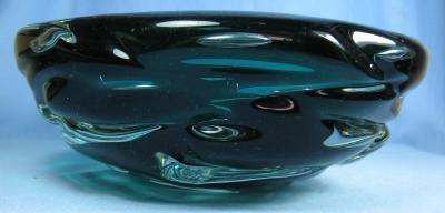 Monumental Italian Art Glass Bowl -
