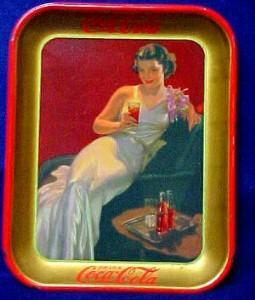 1936 Coca Cola Serving Tray -  Advertising