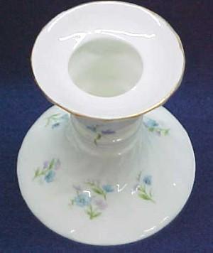 Porcelain Candle Holders Pair - Porcelain/Fine China