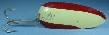 old HUGE Huskie Junior Fish Lure - Vintage Eppinger Sporting Spoon