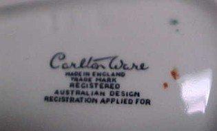 Carlton Ware BEGONIA Mint Dish - Porcelain/Fine China