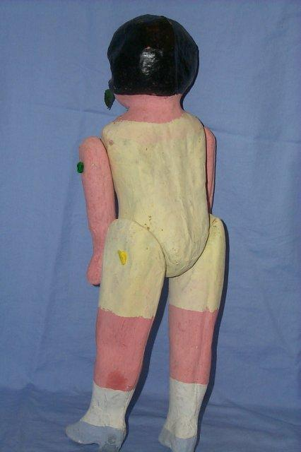Neiman Marcus LUS  Jointed Paper Mache Doll