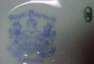 ROYAL BAYREUTH Tapestry Pitcher - Porcelain/Fine China