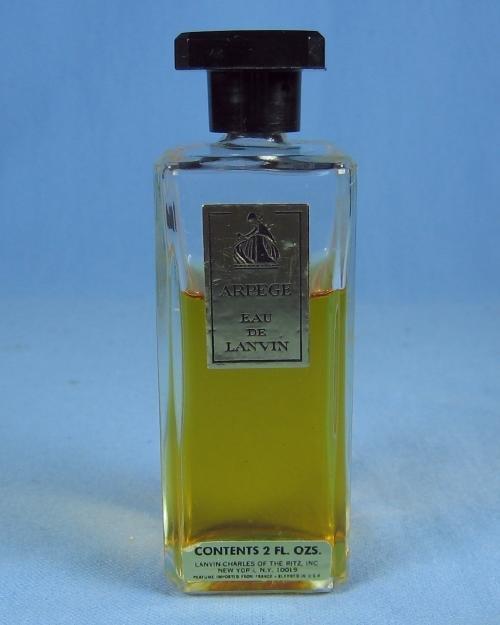 Mini  ARPEGE Eau de Lavin Perfume Bottle