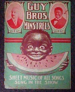 GUY BROS. MINSTRELS - Black Paper
