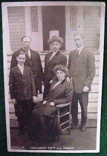 Taft Family Photo Post Card  - Paper