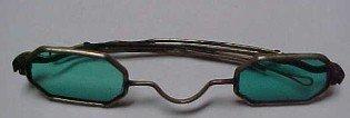 Cival War Blue Green Sunglasses - Military