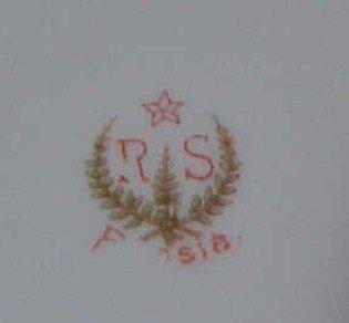 R.S. Prussia Berry Bowl - Porcelain/Fine China