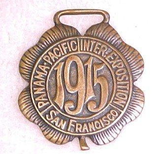 Panama-Pacific Inter Exposition Fob - Advertising
